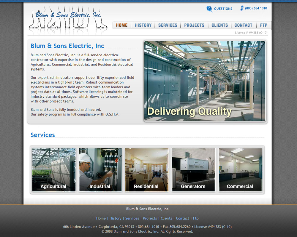 Blum and Sons Electric